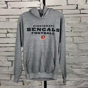 NFL Cincinnati Bengals Hoodie Grey Small 1672